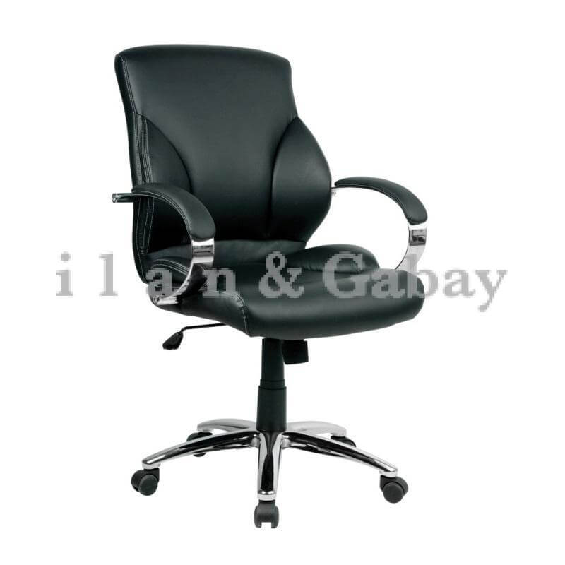 POL כסא מנהל נמוך