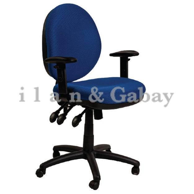 LIAN כסא מזכירה גב עגול איכותי למשרד
