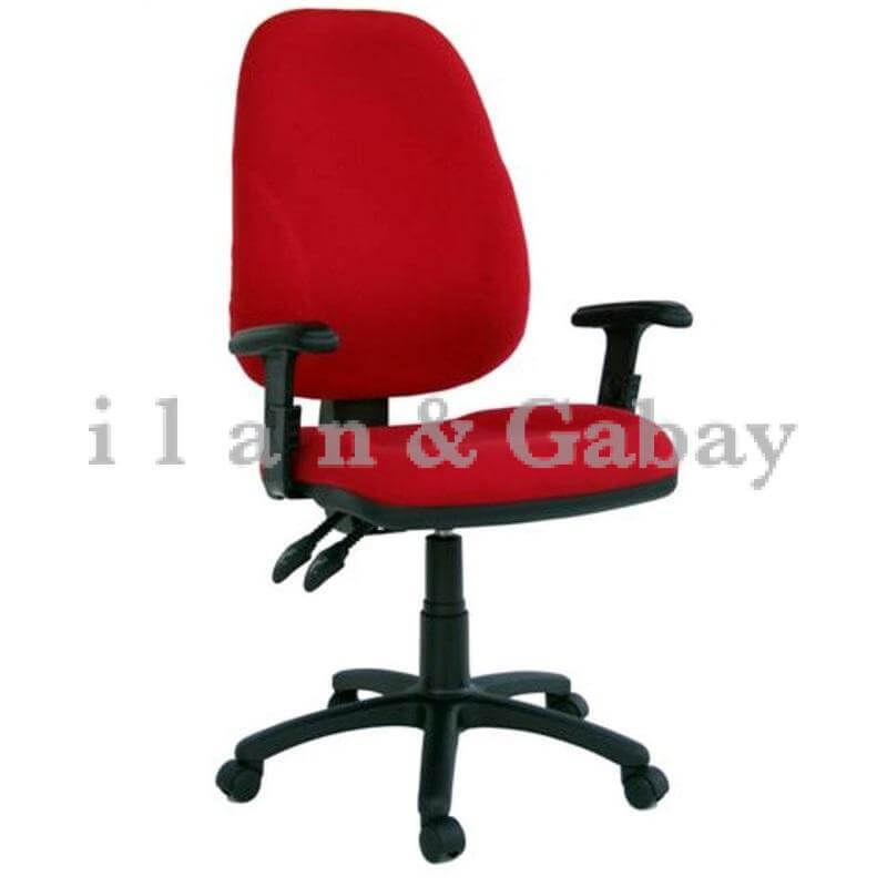 YALI כסא מזכירה קלאסי משרדי עם ידיות מתכווננות