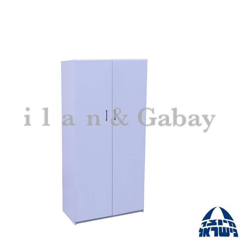 """כוננית לאחסון קלסרים משולב דלתות 160 ס""""מ"""