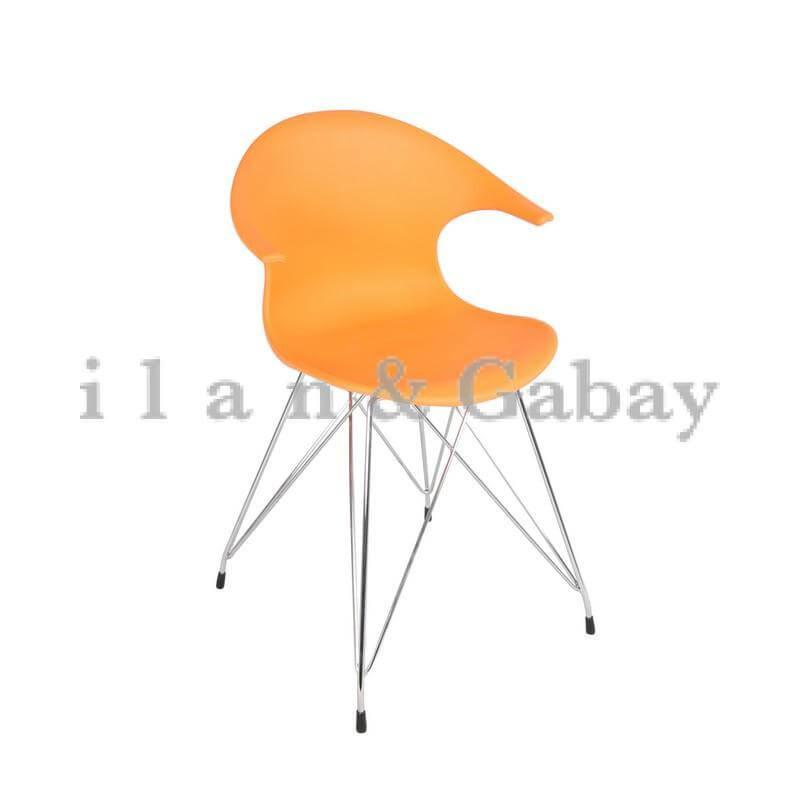 SMARTIS כסא אורח ידיות פלסטיק