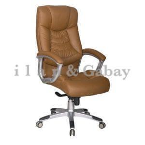כסא מנהלים IDAN בצבע חום