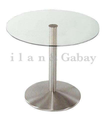 קארוט – שולחן המתנה זכוכית עגול
