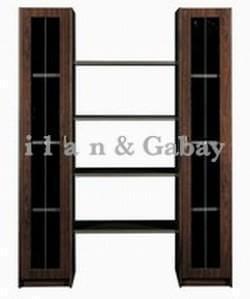 TOPAZ ארון מנהלים מודרני 2 דלתות