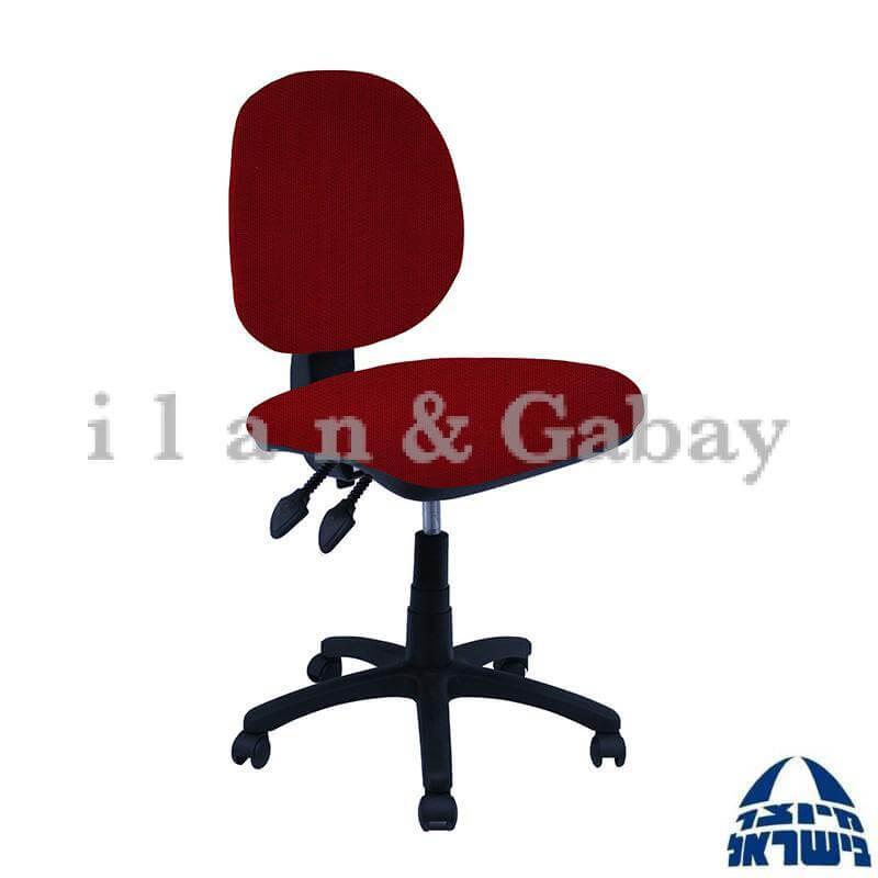 MOR כסא מחשב כולל גב נמוך ללא ידיות