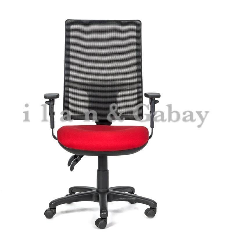 GIL כסא עבודה ארגונומי במראה הייטק