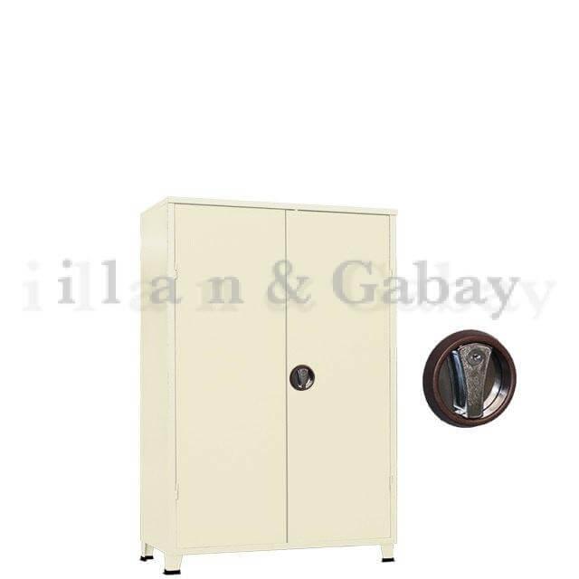 ROSO ארון מתכת משרדי נמוך 2 דלתות