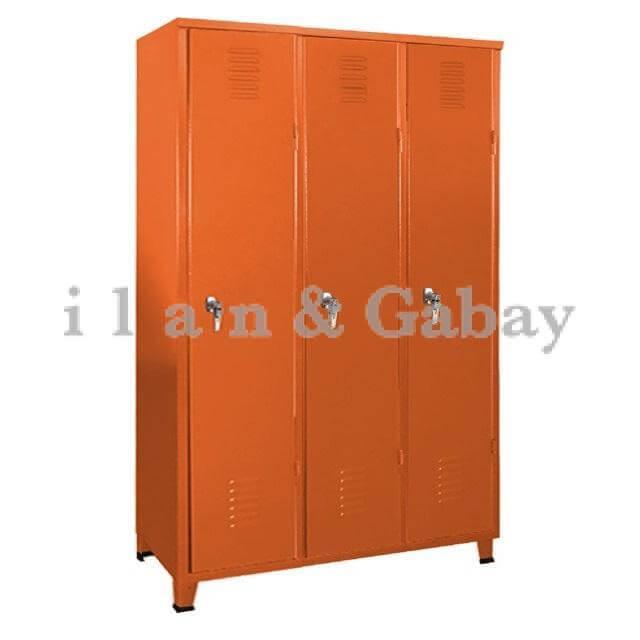 JOVANI ארון הלבשה מתכת 3 דלתות אישיות
