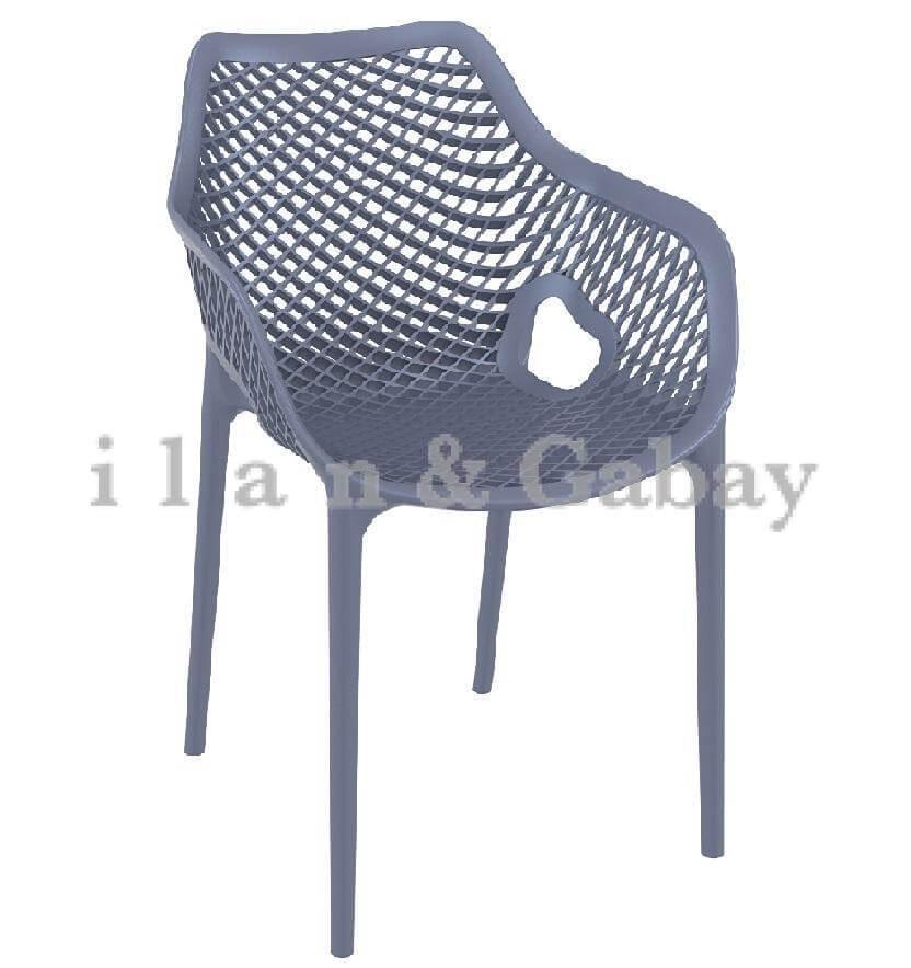 BUBBLE כסא בית קפה עם ידיות