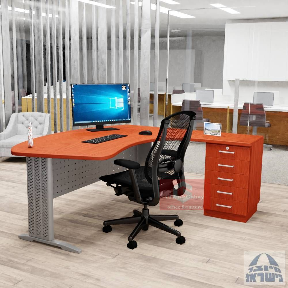 IRON שולחן עבודה ארגונומי למשרד